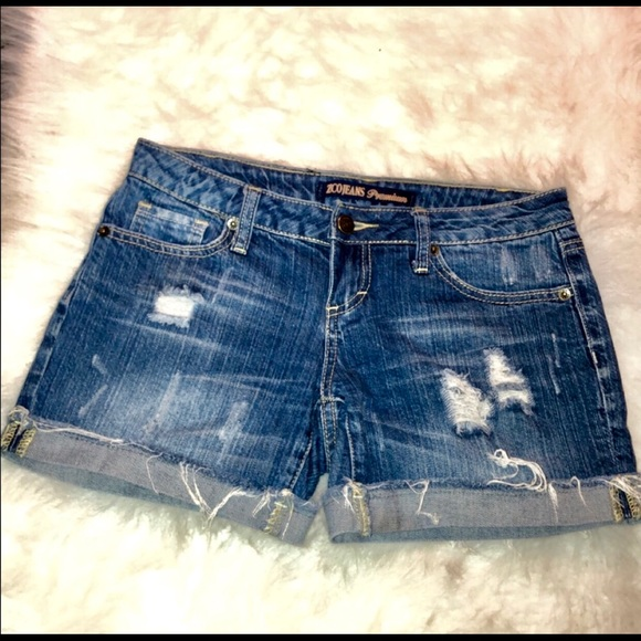 ZCO Pants - ZCO Distressed Jean Shorts Size 3 Junior